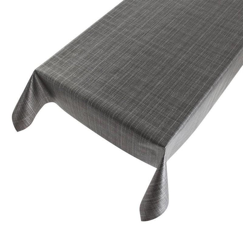 Voorkeur Bestel Buiten tafelkleed/tafelzeil tweed antraciet 140 x 170 cm in XN55