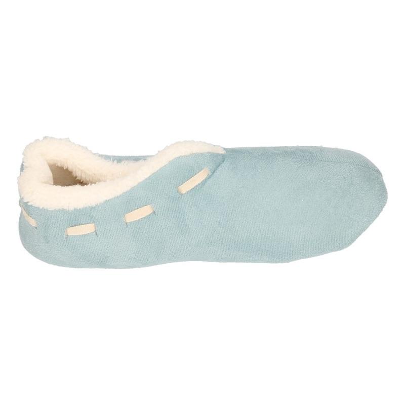 25c395592ee3e9 Bestel Dames Spaanse sloffen/pantoffels licht blauw in de winter winkel