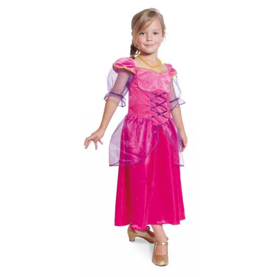 e337a78ba9e244 Bestel Fuchsia roze prinsessen jurk meisjes in de winter winkel