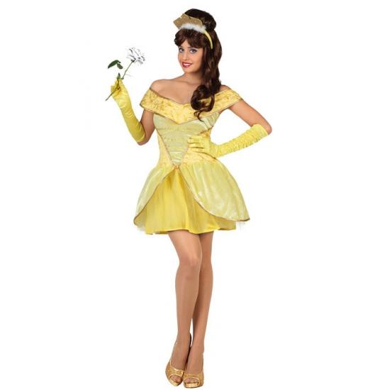 Rapunzel jurk dames kort